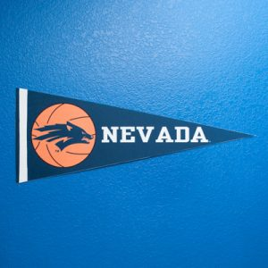 Nevada Basketball Pennant