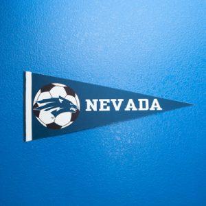 Nevada Soccer Pennant