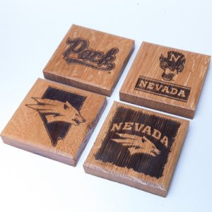 Barrel Multi Logo Coaster Set
