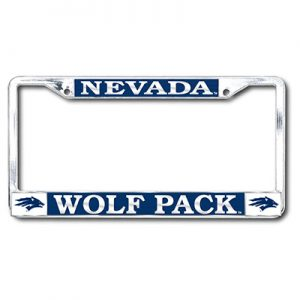 Nevada Wolf Pack Chrome Frame