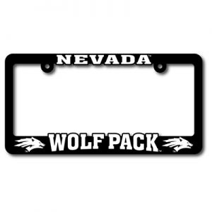 Nevada Wolf Pack Plastic Frame
