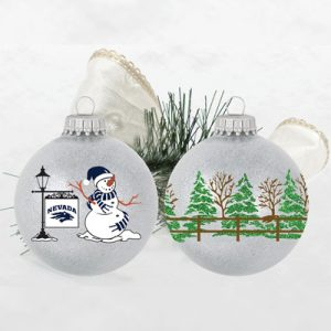 Sparkle Snowman Ornament
