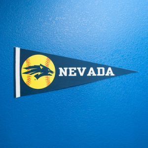 Nevada Softball Pennant